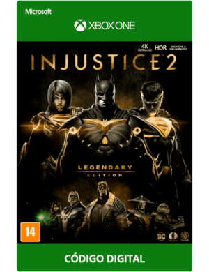 Injustice 2 Legendary Edition Xbox One Codigo 25 Digitos