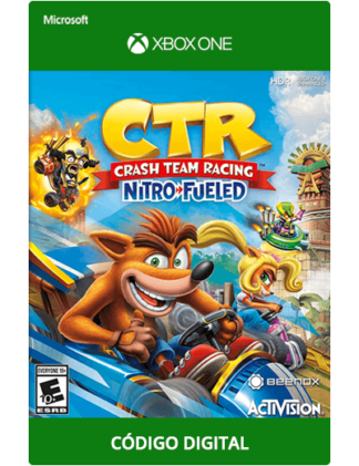Crash-Team-Racing-Nitro-Fueled-Xbox-One-código-25-dígitos