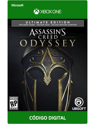 Assassin's-Creed-Odyssey-Ultimate-Xbox-One-código-de-25-digitos