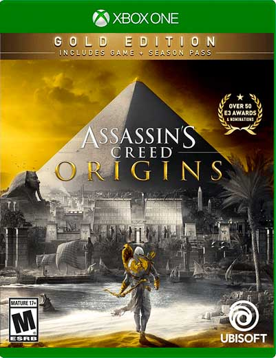 Assassin's Creed Origins Gold Xbox One Mídia Digital