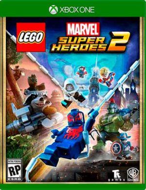 Lego Marvel Super Heroes 2 Deluxe Mídia Digital