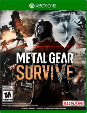 Metal Gear Survive Xbox One Mídia Digital