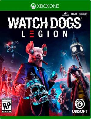 Watch Dogs Legion Xbox One Mídia Digital