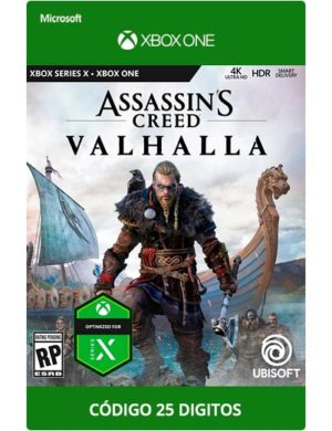 Assassin's-Creed-Valhalla-Xbox-One-Codigo-25-Digitos